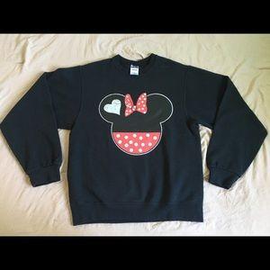 Black Minnie Icon CrewNeck